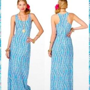 Lilly Pulitzer Treena Clam Jam Maxi Dress